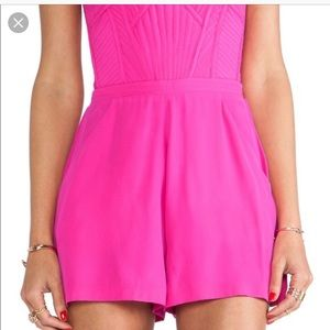 Parker Pants - Parker Silky Romper Hot Pink- Brand New